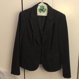 THE LIMITED STUDIO 400 Charcoal Gray Suit
